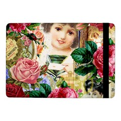 Little Girl Victorian Collage Samsung Galaxy Tab Pro 10 1  Flip Case