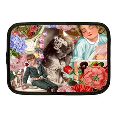 Victorian Collage Netbook Case (medium)