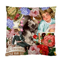 Victorian Collage Standard Cushion Case (two Sides)