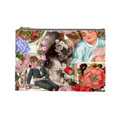 Victorian Collage Cosmetic Bag (large)