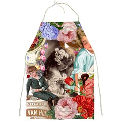 Victorian Collage Full Print Aprons