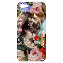 Victorian Collage Apple Iphone 5 Hardshell Case