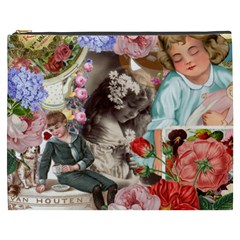 Victorian Collage Cosmetic Bag (xxxl)