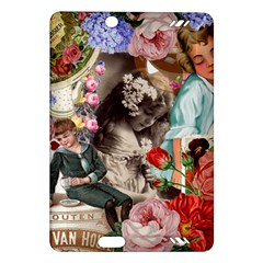 Victorian Collage Amazon Kindle Fire Hd (2013) Hardshell Case