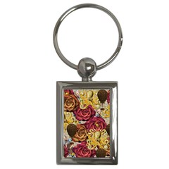 Octopus Floral Key Chains (rectangle)
