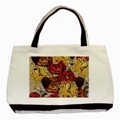 Octopus Floral Basic Tote Bag (two Sides)
