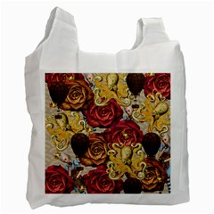 Octopus Floral Recycle Bag (two Side)