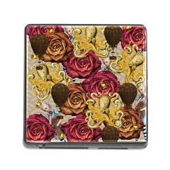 Octopus Floral Memory Card Reader (square)