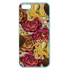 Octopus Floral Apple Seamless Iphone 5 Case (color)