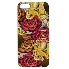 Octopus Floral Apple Iphone 5 Hardshell Case With Stand
