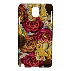 Octopus Floral Samsung Galaxy Note 3 N9005 Hardshell Case
