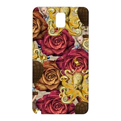 Octopus Floral Samsung Galaxy Note 3 N9005 Hardshell Back Case