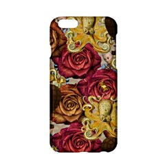 Octopus Floral Apple Iphone 6/6s Hardshell Case