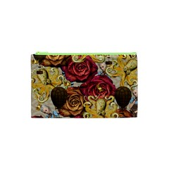 Octopus Floral Cosmetic Bag (xs)