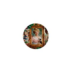 Victorian Collage Of Woman 1  Mini Buttons