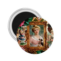 Victorian Collage Of Woman 2 25  Magnets