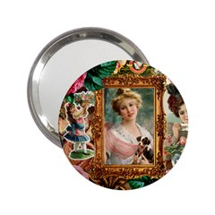 Victorian Collage Of Woman 2 25  Handbag Mirrors