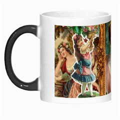 Victorian Collage Of Woman Morph Mugs