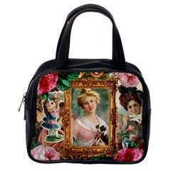 Victorian Collage Of Woman Classic Handbags (one Side)