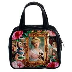 Victorian Collage Of Woman Classic Handbags (2 Sides)