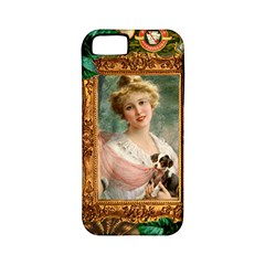 Victorian Collage Of Woman Apple Iphone 5 Classic Hardshell Case (pc+silicone)