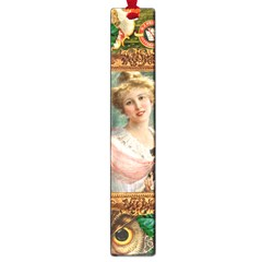 Victorian Collage Of Woman Large Book Marks