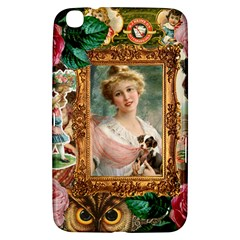 Victorian Collage Of Woman Samsung Galaxy Tab 3 (8 ) T3100 Hardshell Case