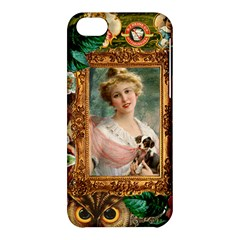 Victorian Collage Of Woman Apple Iphone 5c Hardshell Case