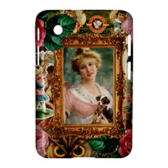 Victorian Collage Of Woman Samsung Galaxy Tab 2 (7 ) P3100 Hardshell Case