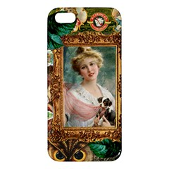 Victorian Collage Of Woman Iphone 5s/ Se Premium Hardshell Case