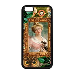 Victorian Collage Of Woman Apple Iphone 5c Seamless Case (black)