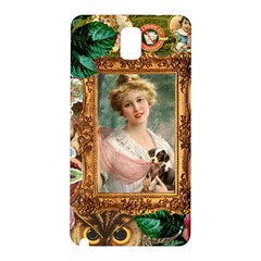 Victorian Collage Of Woman Samsung Galaxy Note 3 N9005 Hardshell Back Case