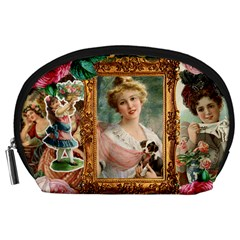 Victorian Collage Of Woman Accessory Pouches (large)