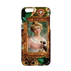 Victorian Collage Of Woman Apple Iphone 6/6s Hardshell Case