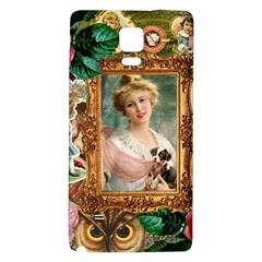 Victorian Collage Of Woman Galaxy Note 4 Back Case