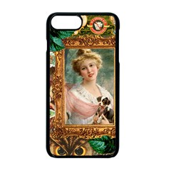 Victorian Collage Of Woman Apple Iphone 7 Plus Seamless Case (black)