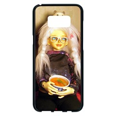 Eating Lunch Samsung Galaxy S8 Plus Black Seamless Case