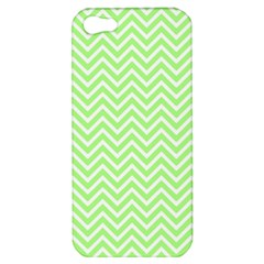 Green Chevron Apple Iphone 5 Hardshell Case