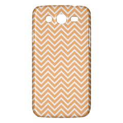 Orange Chevron Samsung Galaxy Mega 5 8 I9152 Hardshell Case