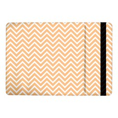 Orange Chevron Samsung Galaxy Tab Pro 10 1  Flip Case