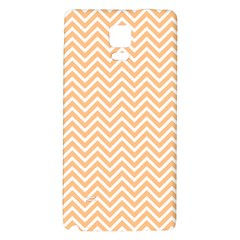 Orange Chevron Galaxy Note 4 Back Case