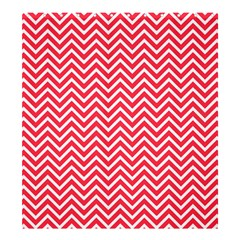 Red Chevron Shower Curtain 66  X 72  (large)