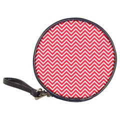 Red Chevron Classic 20 Cd Wallets