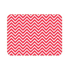 Red Chevron Double Sided Flano Blanket (mini)