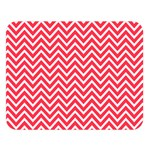 Red Chevron Double Sided Flano Blanket (Large)  80 x60 Blanket Front