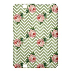Green Chevron Rose Kindle Fire Hd 8 9