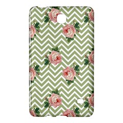 Green Chevron Rose Samsung Galaxy Tab 4 (8 ) Hardshell Case