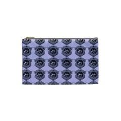 Three Women Blue Cosmetic Bag (small)