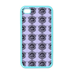 Three Women Blue Apple Iphone 4 Case (color)