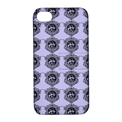 Three Women Blue Apple Iphone 4/4s Hardshell Case With Stand